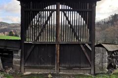 Opravená zadní brána, 12/2019