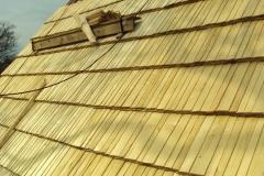 Foto 9/9: Střecha během oprav, 4/2014