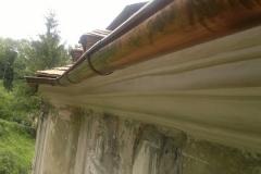 Foto 20/29: Nově vytažená podstřešní římsa, 7 2012