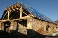 Oprava 1/4 krovu - po dokončení, 12 2012