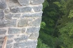 Foto 14/22: Údolní stěna za gotickým torzem, 7/2015