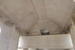 Opravené vnitřní omítky a nový strop, 2020