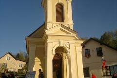 Foto 8/10: Slavnostní otevření kaple po dokončení její obnovy, 10/2014