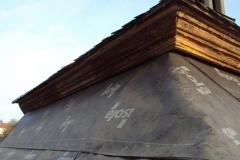 Foto 18/29: Detail obnovené mezistřešní římsy, 10 2012