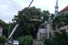 Foto 14/30: Zahájení prací na presbytáři, 7/2013