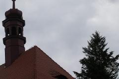 Foto 2/9: Střecha presbytáře a sanktuska po opravě