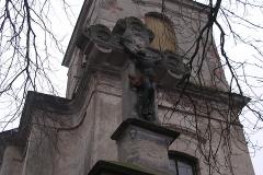 Foto 1/10: Věž před opravou fasády