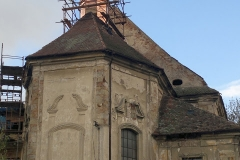 Foto 20/28: Průběh opravy sanktusové věže, 11/2013