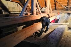 Oprava krovu, etapa 2019