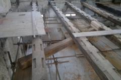 Foto 6/23: Průběh opravy stropu 2011
