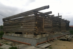 Foto 11/23: Stavba stodoly 2012
