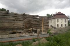 Foto 12/23: Stavba stodoly 2012