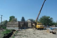Foto 14/23: Stavba stodoly 2012