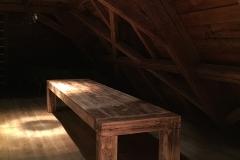Foto 23/23: Tesařsky provedený stůl v podkroví, 2015