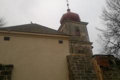 Foto 5/22: Z stěna márnice po opravě, 11 2012