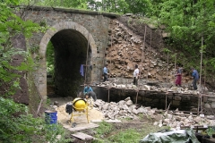 Foto 1/8: Zahájení prací na vtoku