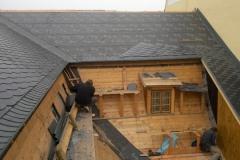 Foto 14/20: Zadní část střechy, 3.10. 2012