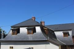 Foto 17/20: Dokončená zadní část střechy, 2013