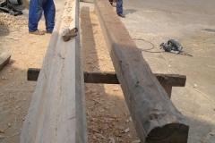 Foto 9/20: Výroba mezistřešní římsy, 25.7. 2012