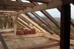 Foto 11/16: Opravený krov, přístavek VII