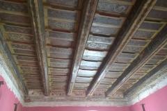 Foto 30/31: Restaurovaný malovaný strop v úseku C, 8/2016
