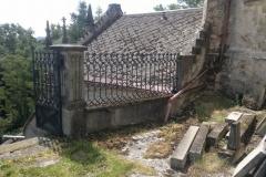 Foto 1/13: Nad levým schodištěm před zahájením prací, 6/2014