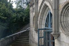 Foto 4/13: Vstup do hrobky před zahájením prací, 6/2014