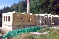 Foto 5/15: Připraveno pro montáž krovu