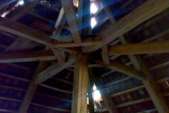 Foto 6/19: Krov horní části věže před opravou